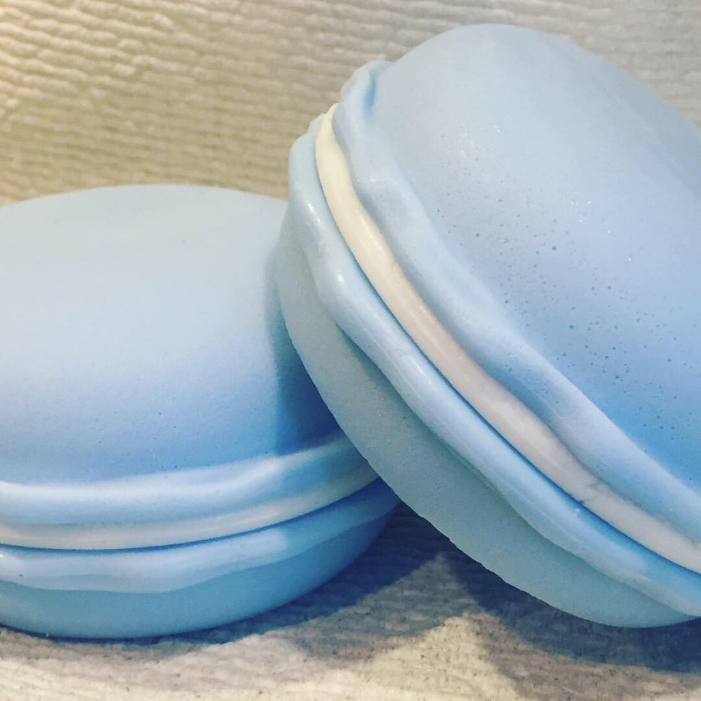 French Macaron Glycerin Soap - LARGE 12oz - SublimeDragonfly
