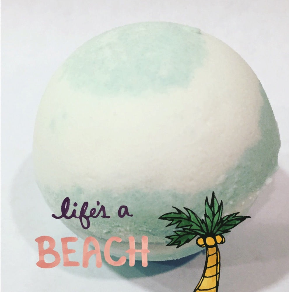 Coconut Lime Bath Bomb - SublimeDragonfly