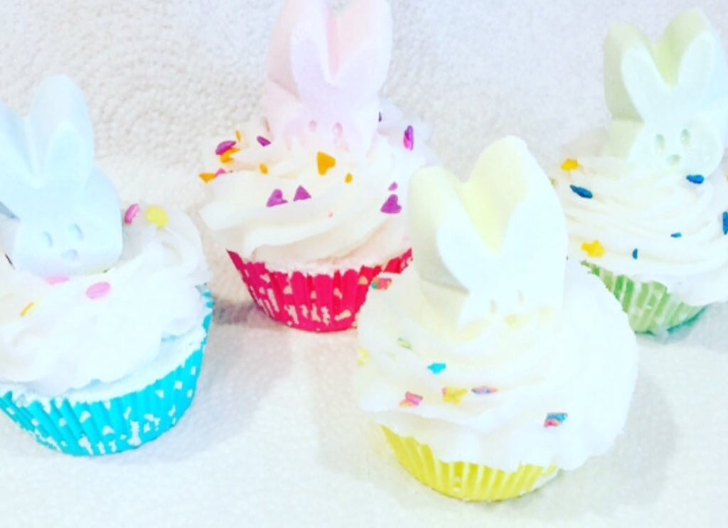 Easter Cupcake Bath Bombs - SublimeDragonfly