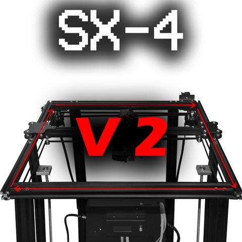 SX-4 V2 CORE XY 3D Printer