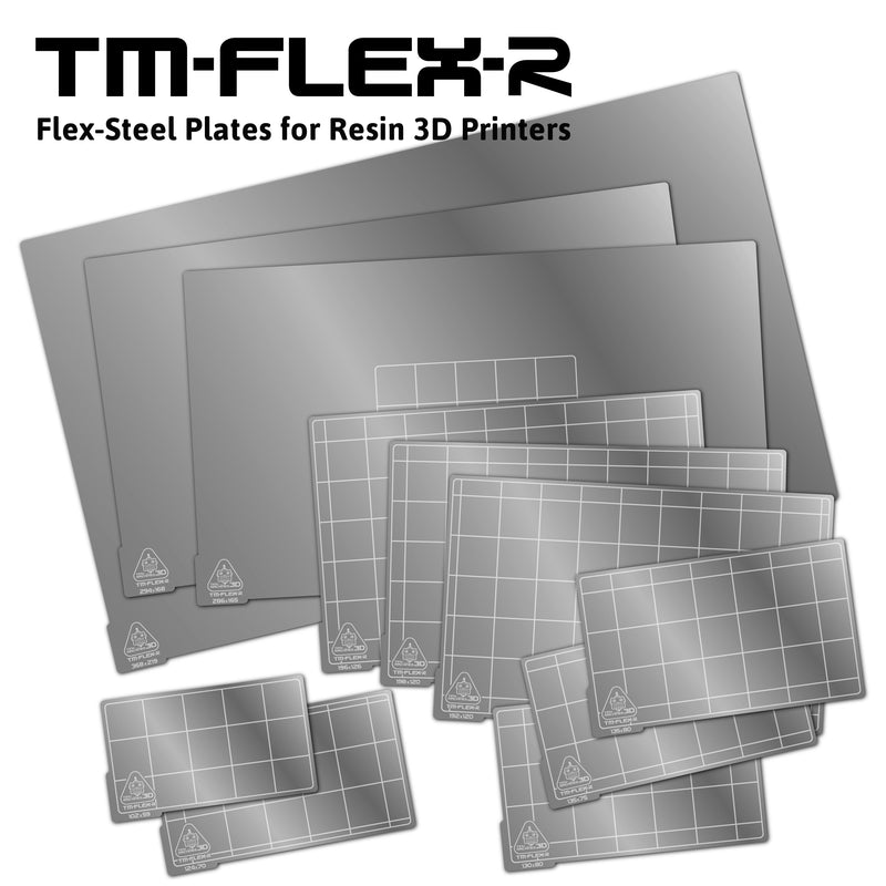 TM-FLEX R - Magnetic Print Surface for Resin Printers