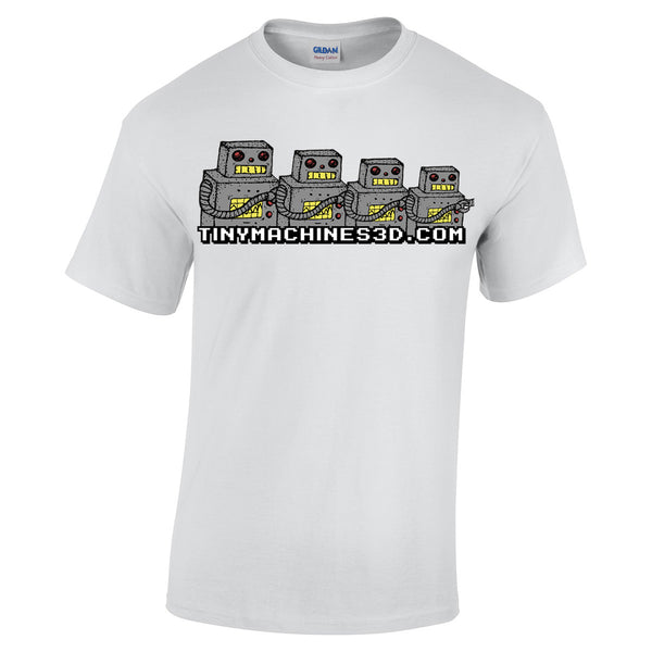 Tiny Machines 3D T-Shirts