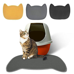 Cat Shape Cat Litter Mat