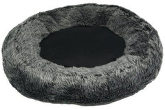 Luxury Cat & Dog Snoozer Bed (Charcoal)