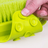 foot brush scrubber floor hold