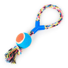Dog Ball Rope with Toy