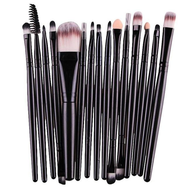 Toopoot's Vestidos 2017 15 pcs 1 Set Makeup Brushes Tool