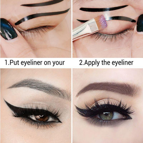 Perfect Cat Eyeliner Stencil