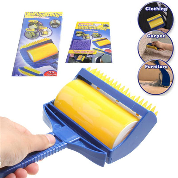 Reusable Sticky Buddy Roller