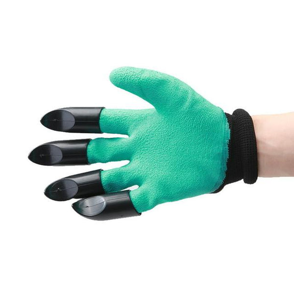 High Quality Garden Gloves With Plastic Claws