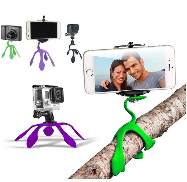 The Gekkopod - Mini Flexible and Portable Tripod Mount for Phones and Gopros