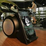 Fast Wireless Charger with Stereo Bluetooth Speaker