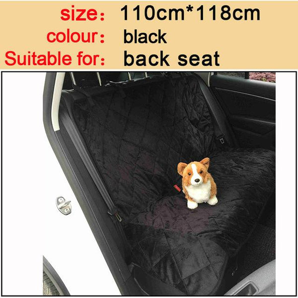 Premium Pet Car Seat Cover - Scratchproof and Waterproof