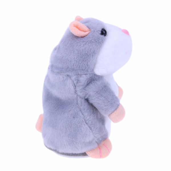 Interactive Talking Hamster Plush Toy