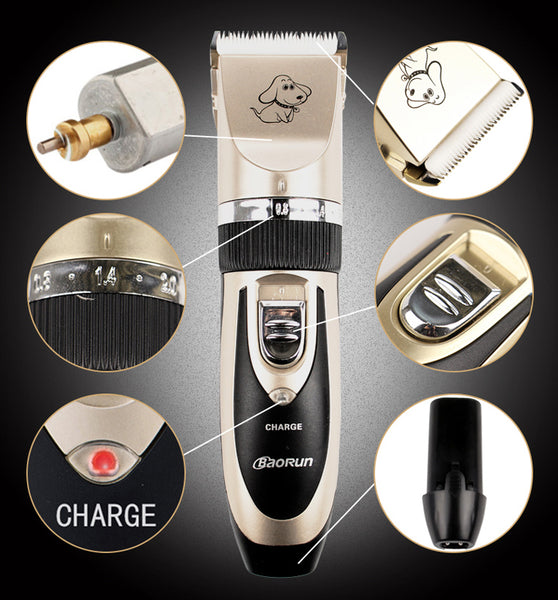 Professional Rechargeable Pet Hair Trimmer