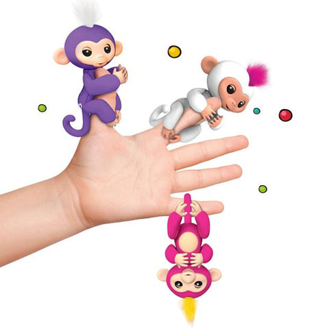 Interactive Fingerlings  Baby Monkey