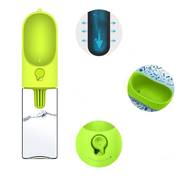 One-Touch Portable Pet Water Bottle