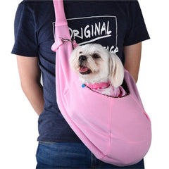 Reversible Pet Carrying Sling Bag