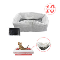 Cat Litter Filter - 10 Pieces/Set
