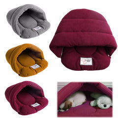 Soft and Warm Pet Bed Cave