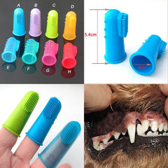 Super Soft Pet Finger Toothbrush - 5 Piece/Set