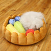 fruit tart bed for cat