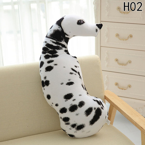 Realistic 3D Dog Pillows and Cushions