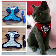 Cat Vest Leash Harness
