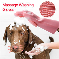 Dog Wash Gloves