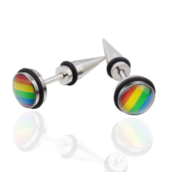 Rainbow Ear Spike