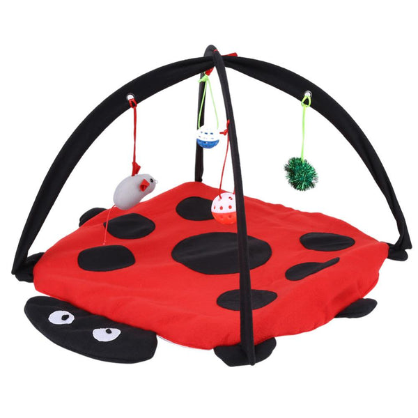 Multi-function Cat Play Mat and Bed