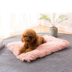 Long Fur Pet Bed