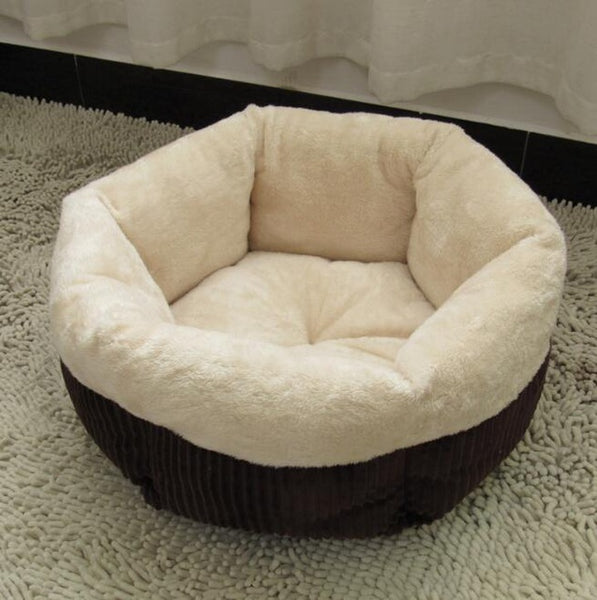 Comfy Round Plush Bed