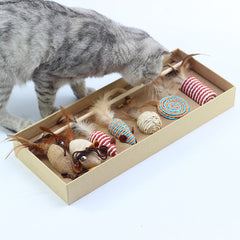 Feather Cat Toys
