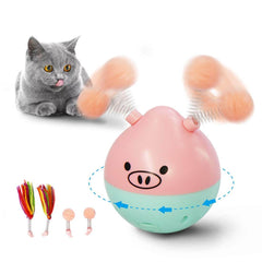 Teaser Cat Toy Tumbler