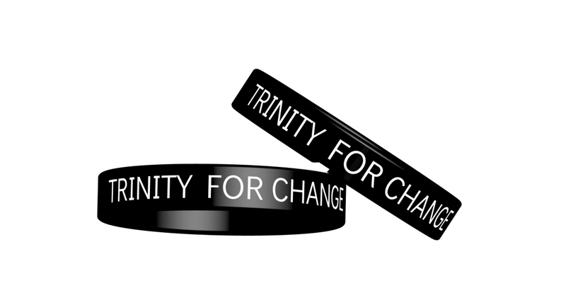 """TRINITY FOR CHANGE"" Wrist Band"