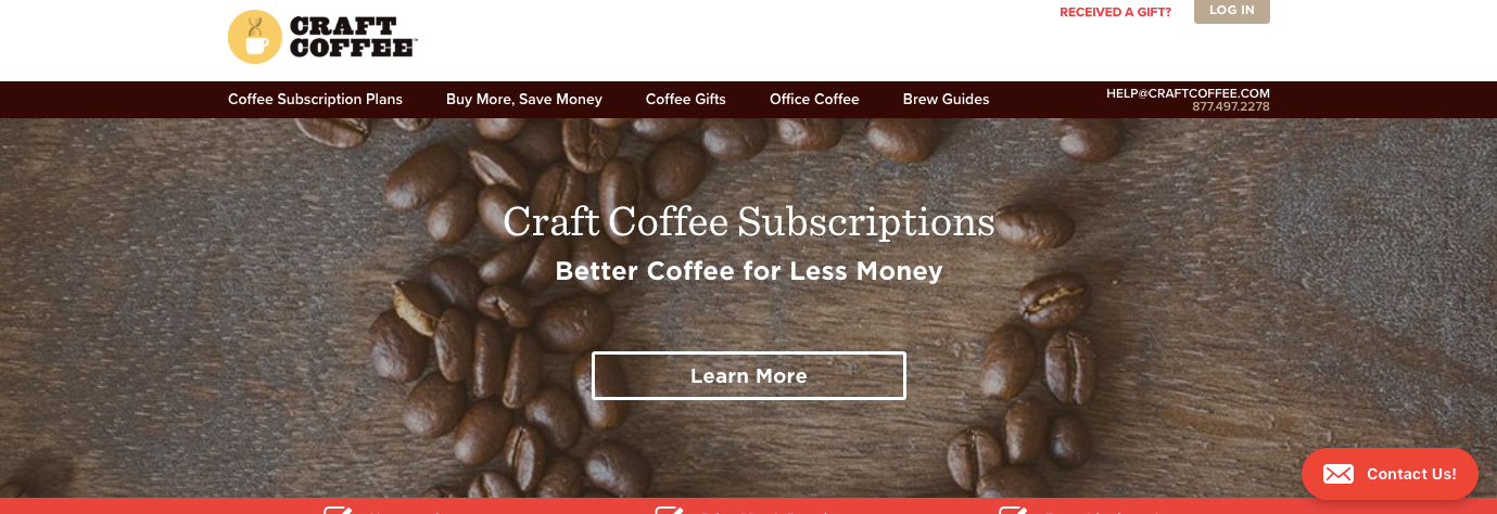 Craft Coffee screenshot