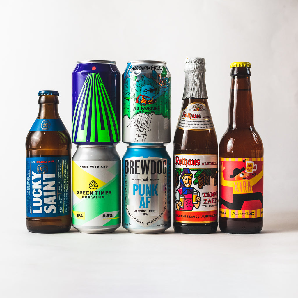 Beer 12 Pack: Low & No Alcohol Beers