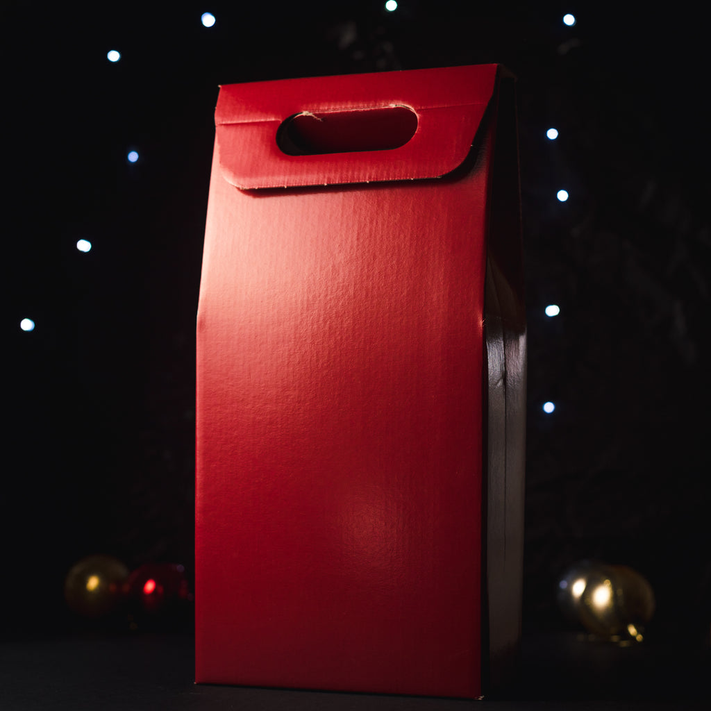 Red 2 Bottle Gift Box