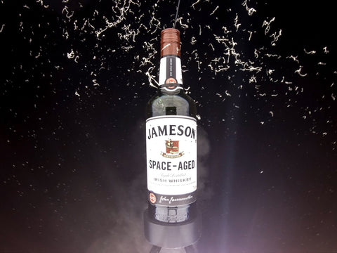 Jameson Space-Aged Whiskey in space
