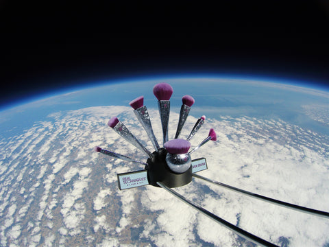 Real Techniques Brush Crush  makeup brush range in space