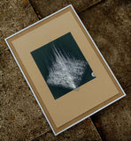 limited edition sound art abstract in frame