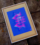 artist signed abstract wall art print