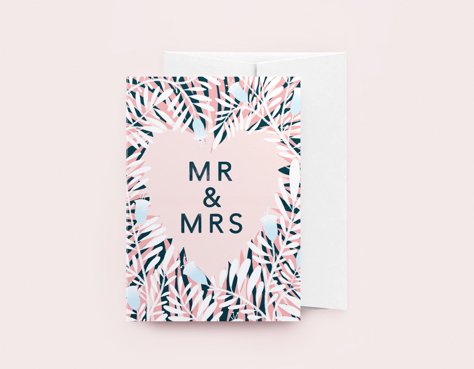 Mr & Mrs - Florals