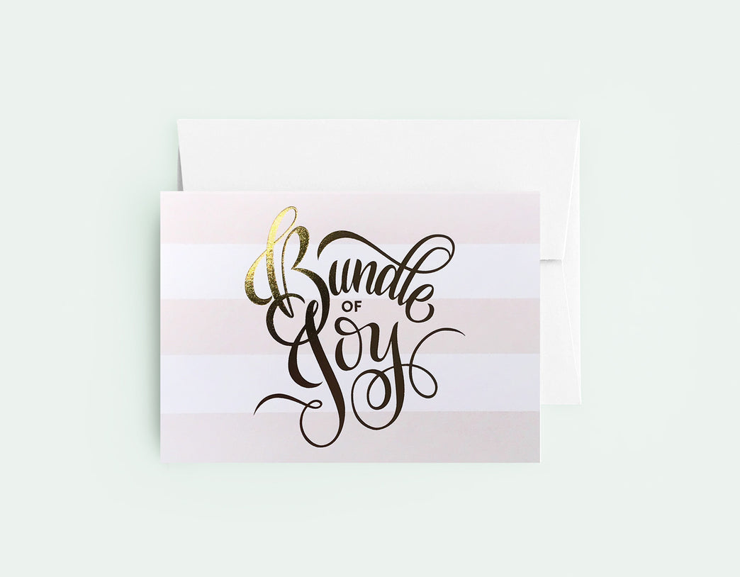 Bundle Of Joy Pink - Love Lettering