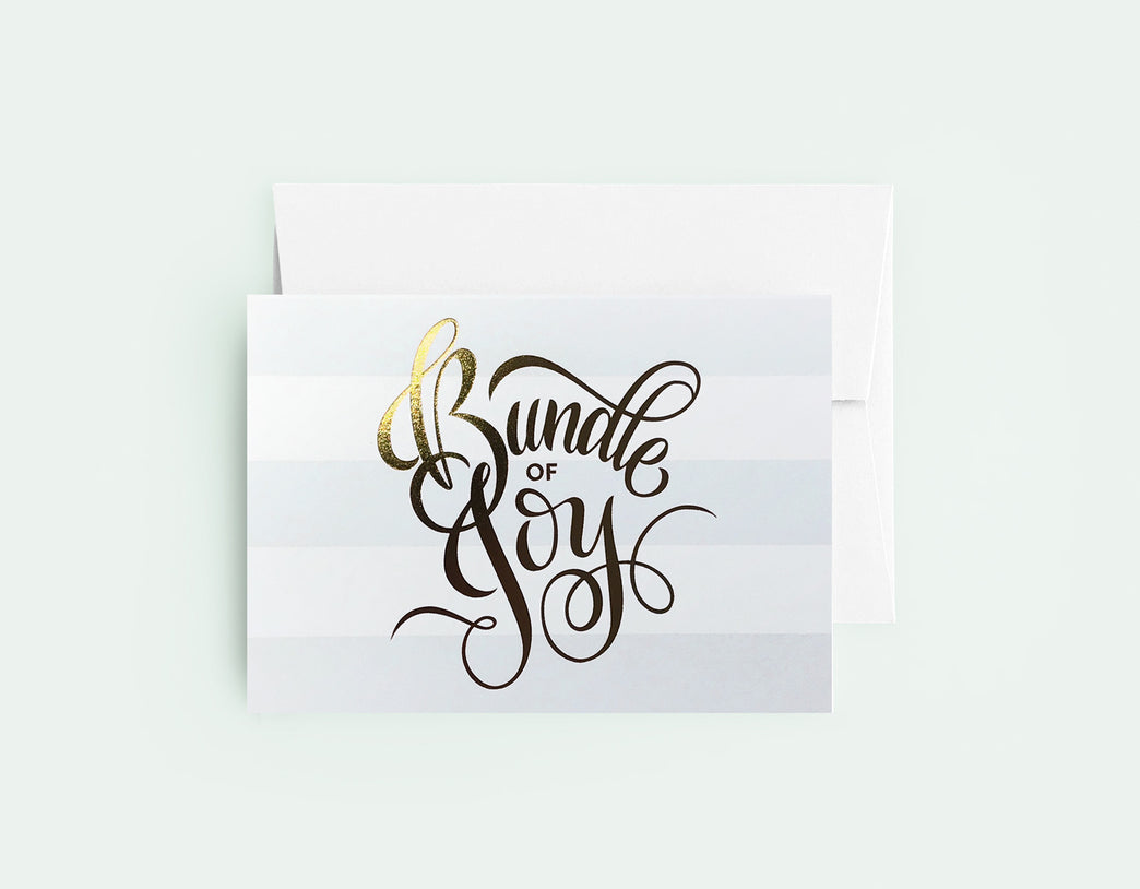 Bundle Of Joy Blue - Love Lettering