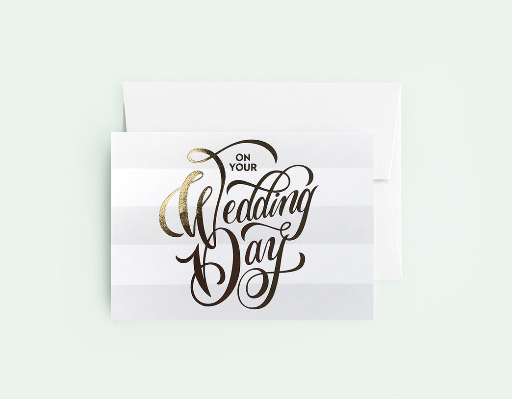 On Your Wedding Day - Love Lettering Pt. 2