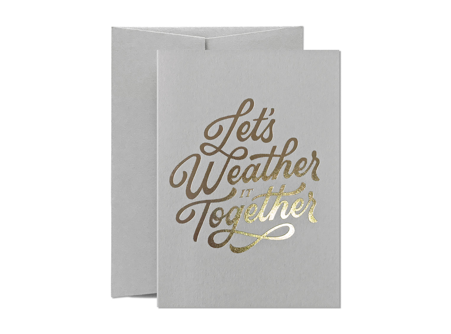 Let's Weather It Together