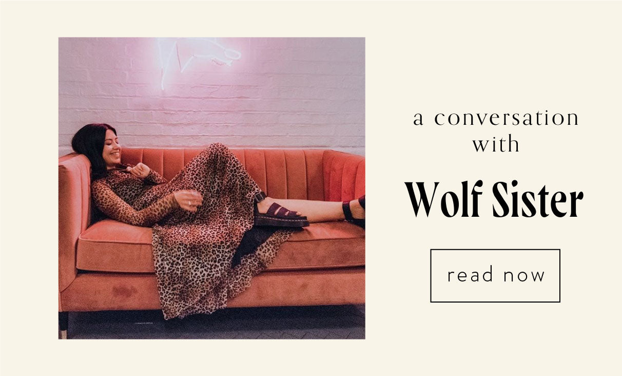 a conversation with wolf sister