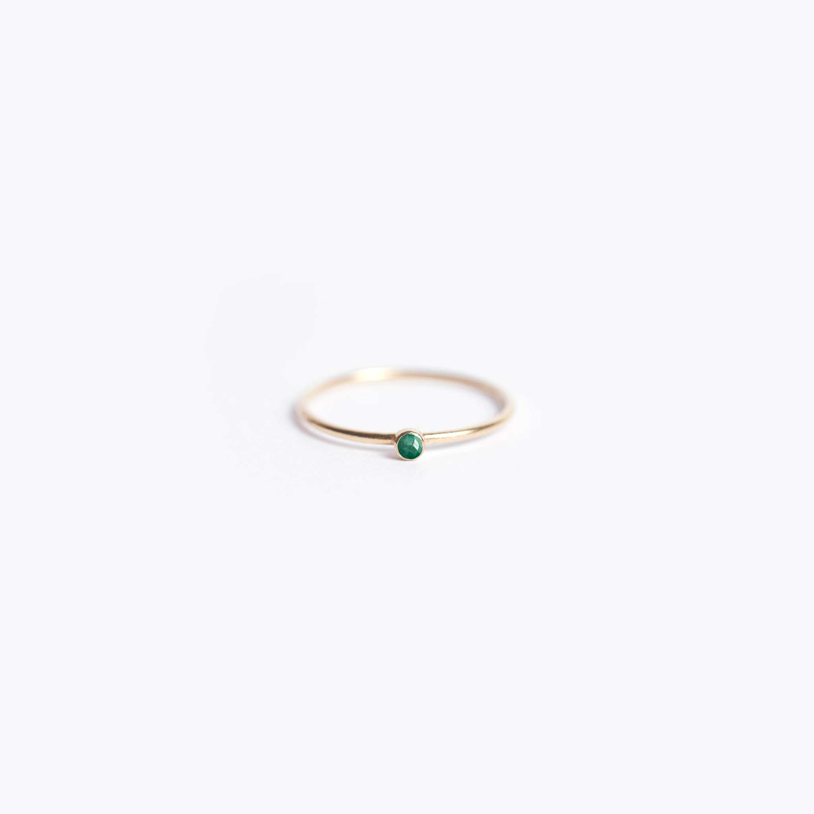 may birthstone | fine gold emerald ring